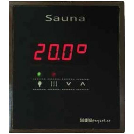 Regulace Sauna chrom