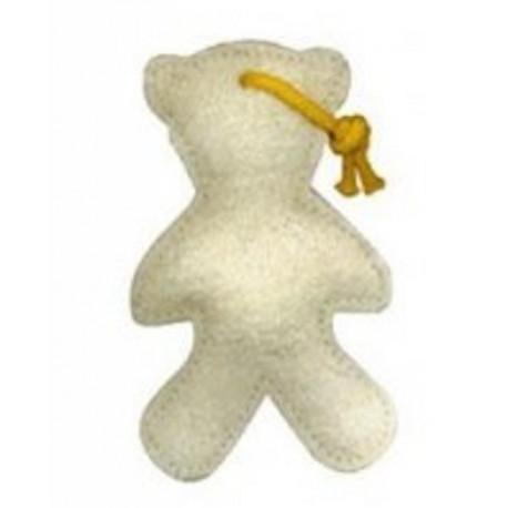 Masážní medvídek lufa