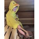 Set s dětským županem do sauny