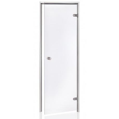 Dveře do parní sauny Andres celoskleněné čiré