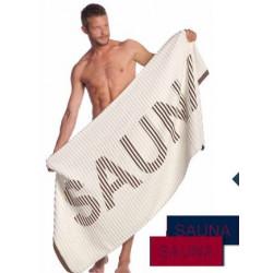 Osuška vossen sauna hnědá