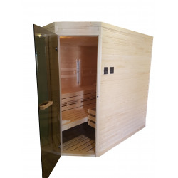 Ampere sauna 220x180