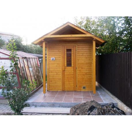 Venkovní sauna Ampere 210x180
