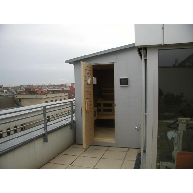 Venkovní sauna Ampere 220x190