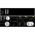 LED zrkadlo so senzorom ZP7001-S