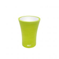 Pohárik na kefky žlto-zelená AT5058-75