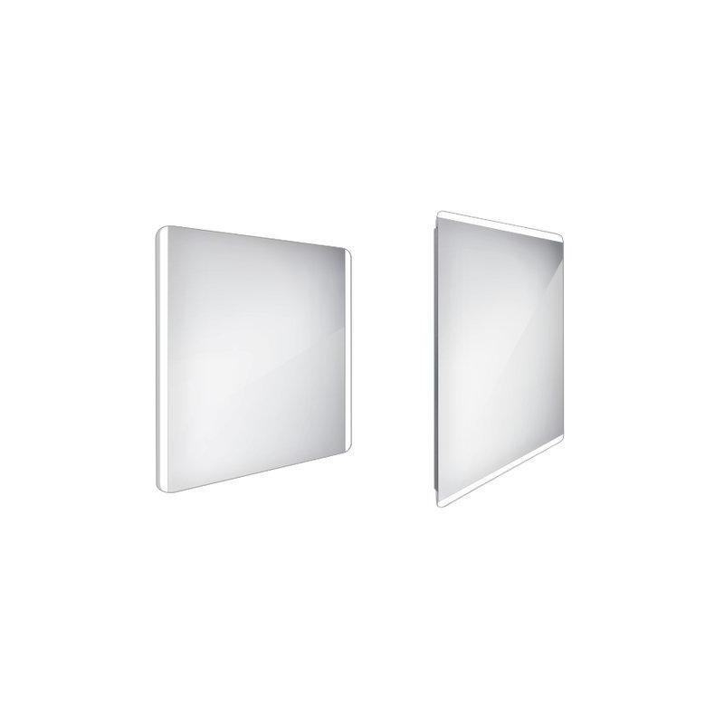 LED zrcadlo 800x700 ZP 17003