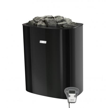 Narvi NC Electric 6,0 kW Black s regulací saunová kamna