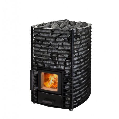 Narvi Velvet 20 Black saunová kamna na dřevo