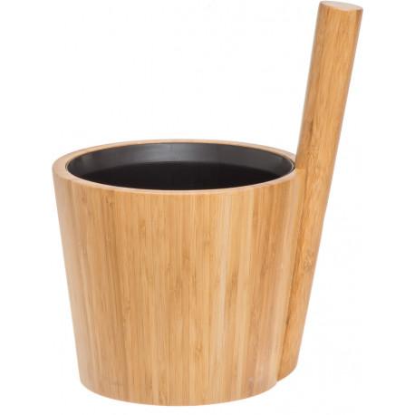 Rento vědro bambus s černou vložkou