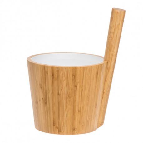 Rento vědro bambus s bílou vložkou