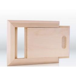 Ventilácia do sauny posuvné odvetranie osika
