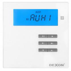 Dexon zosilňovač a hudba do sauny