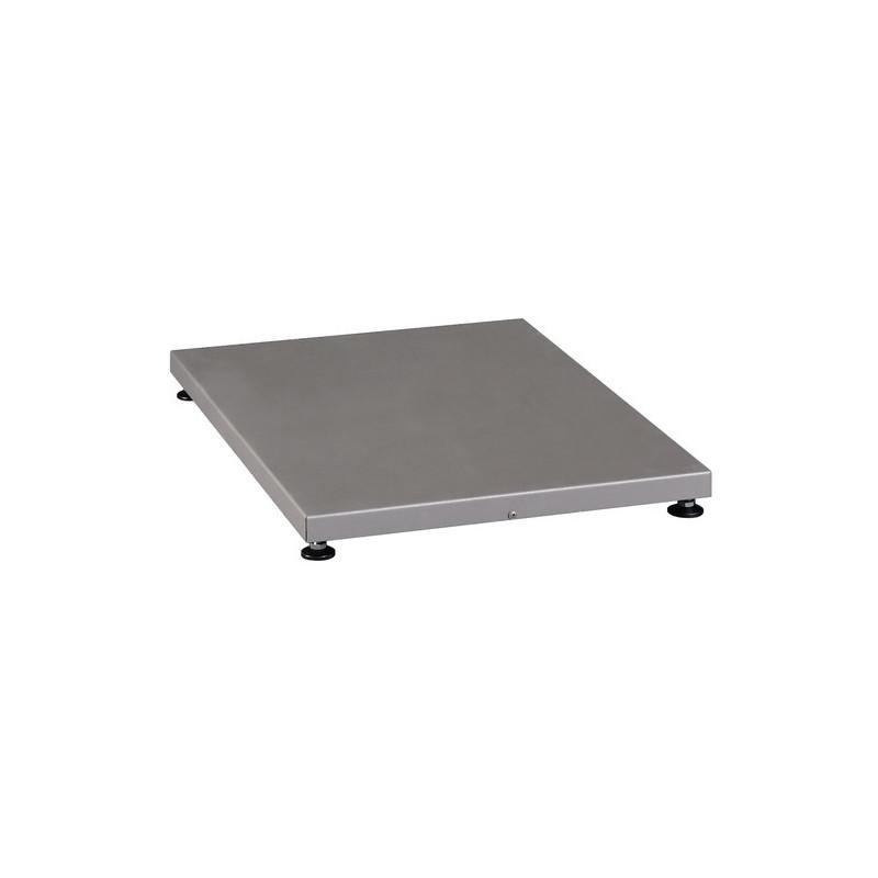 Ochranný štít pod saunová kamna 470x665mm stříbrný