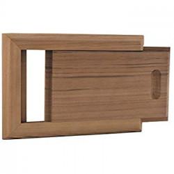 Posuvné odvetranie do sauny šupátko céder
