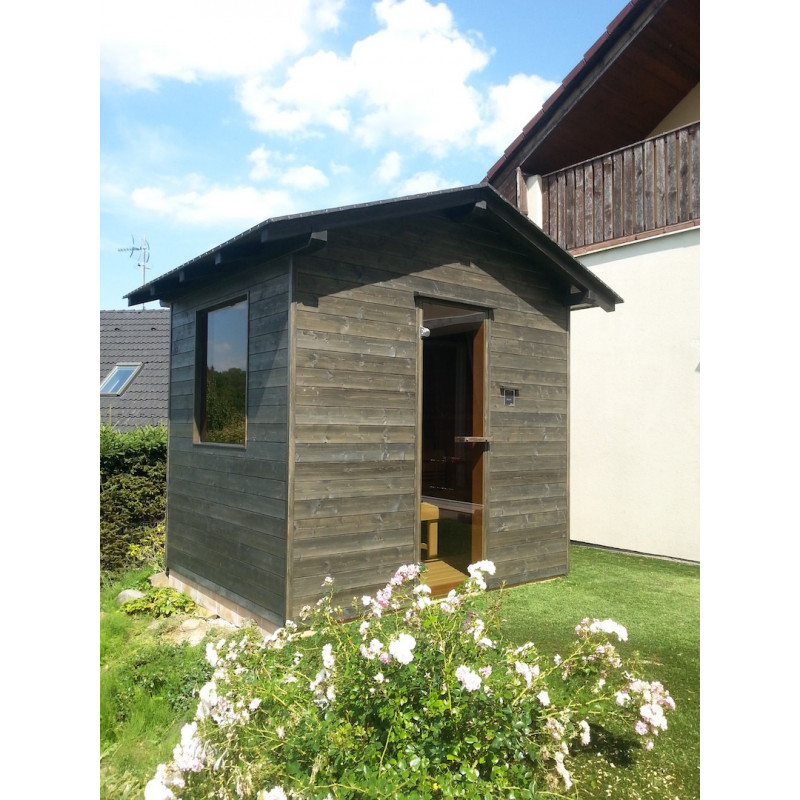 Venkovní sauna Ampere 230x190