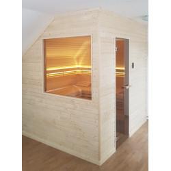 Cuvier finská domácí sauna 220x180