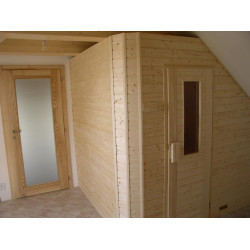Ampere fínska sauna 220x180