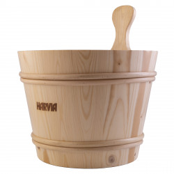 Vědro do sauny dřevěné 7l