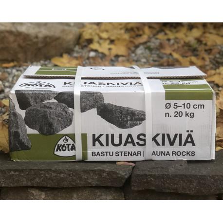 Lávové kamene do sauny
