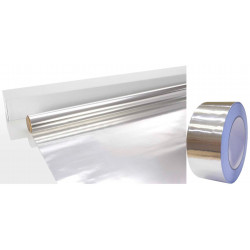 Set Alu páska a Alu fólie do sauny 0,5m x 22,5m2