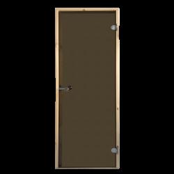 Saunové dvere Harvia 69x189 bronzové