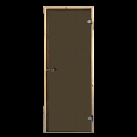 Saunové dveře Harvia 7x19 bronz
