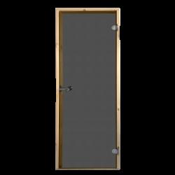 Saunové dveře Harvia 7x19 šedé