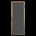 Saunové dveře Harvia šedé