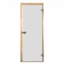 Saunové dvere Harvia 7x19 satinato