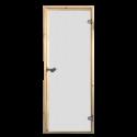 Saunové dvere Harvia 69x189 satinato