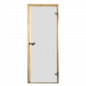 Saunové dveře Harvia 7x19 satinato