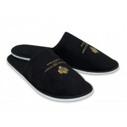 Pánské pantofle Velur černé