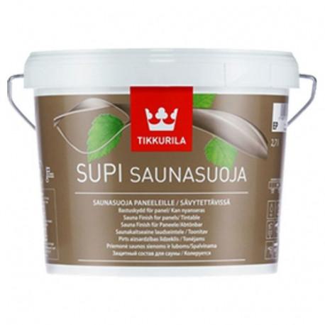 Lak SUPI SAUNA FINISH bezbarvý odstín 2,7l