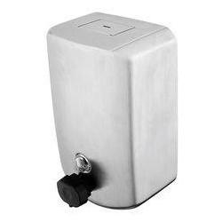 Zásobník na tekuté mýdlo-broušená nerez HPM 9231-10