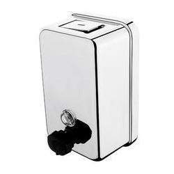 Zásobník na dezinfekčný gél alebo tekuté mydlo-leštená nerez HP 8131-18