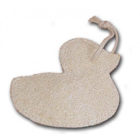 Mycí žínka ve tvaru srdce do sauny
