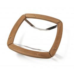 Kryt topidla dřevěný ke kamnům Kota saana