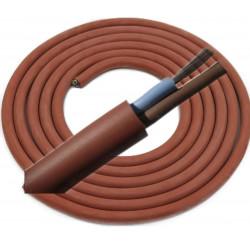 Silikónový kábel 2x1,5mm
