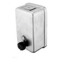 Zásobník na tekuté mýdlo-broušená nerez HPM 8131-10