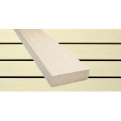 Osika 28x90 dřevo do sauny na lavice