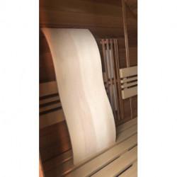 Opěrka zad do sauny Wave osika