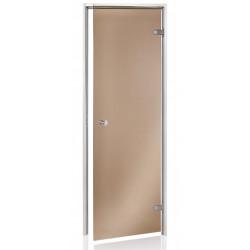 Dveře do parní sauny 7x20 bronz