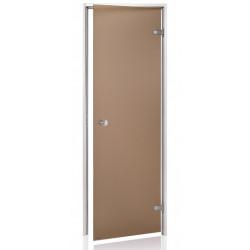 Dveře do páry 7x19 bronz matne