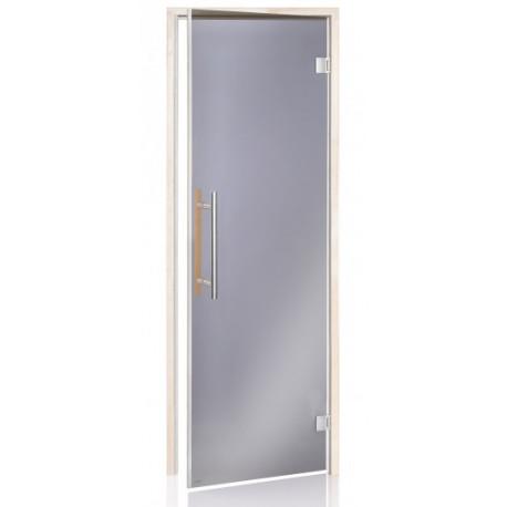 Dvere do sauny Beneluxu Grey 7x19 Aspen
