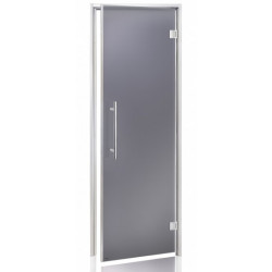 Dvere do parnej sauny Andres BENELUX 7x20 číre