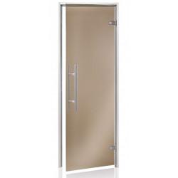 Dveře do páry 7x19 bronz light premium