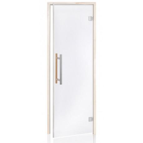 Dveře do sauny Benelux čiré 7x19 jelša