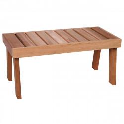 Podlahová lavička Cedr 870x430x400mm