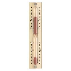 PřPresýpacie hodiny do sauny-hnedý piesok 15min